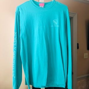 Long sleeve Simply southern T-shirt, medium